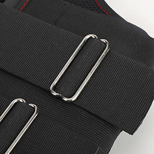 banapoy Ortesis de Soporte para el Pecho, protección de la Cintura Soporte Lumbar Que Fija la Cintura con férula precalentada para fracturas o Lesiones