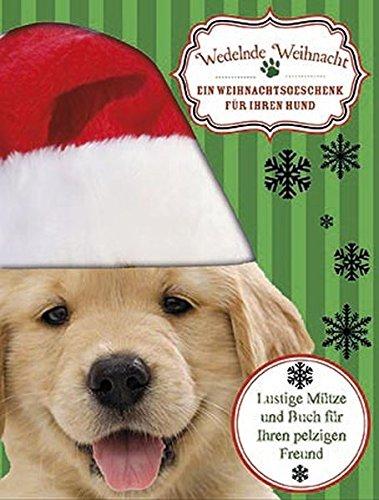 Wedelnde Weihnacht - ein Weihnachtsgeschenk für Ihren Hund: Boxset mit Weihnachtsmütze