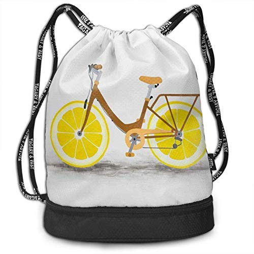 DJNGN Mochila del Lazo, Bicicleta con el Bolso de la Mochila del...