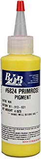 Pigment   4 Ounce Bottle   Great for 2-Part Cast Polyurethane, Epoxy, and Polyurethane Foam   Highly Concentrated, Opaque Pigment (not a Translucent dye) (Primrose Yellow)