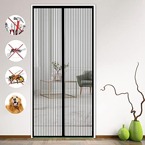 DANWU Cortina Mosquitera Magnética 120x220cm contra Mosquitos e Insectos Mosquitera para Puerta...