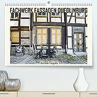 FACHWERK FASSADEN QUEDLINBURG (Premium, hochwertiger DIN A2 Wandkalender 2022, Kunstdruck in Hochglanz): Historische Hausfassaden zeigen die Spuren der Zeit. (Monatskalender, 14 Seiten )