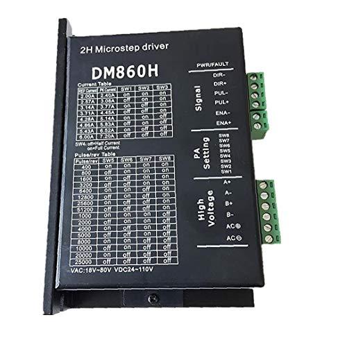 DM860H coppia elevata 2 trifase 18~80V o DC 24~110V ibridi conducente Nema34 motore passo a passo per CNC corredo di attrezzi industriali