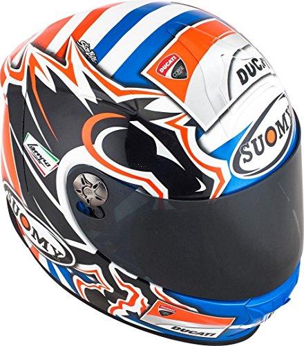 Suomy - Casco Sr-Sport Dovizioso GP, réplica Ducati, gráfica, S