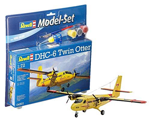 Revell GmbH 164 848,5 cm Dhc-6 Twin Otter Ensemble de modèle