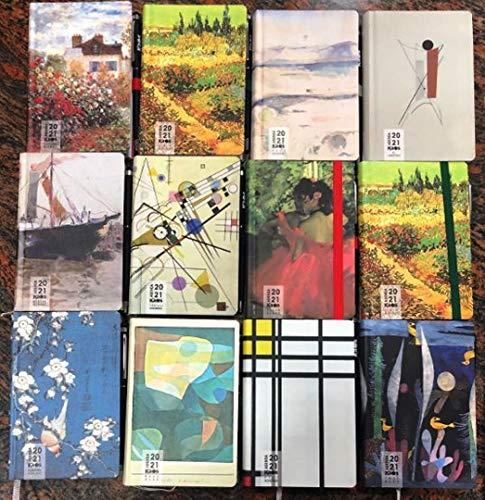 Agenda 2021 settimanale Kaos pittori 9x14 con penna: quadro a scelta