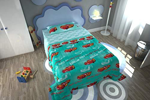 Trapuntino Egidio SRL Disney Pixar Cars Letto Singolo Misura 170X250