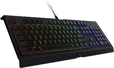 Razer Cynosa Chroma Gaming Keyboard: Customizable Chroma RGB Lighting - Individually Backlit Keys - Spill-Resistant Design - Programmable Macro Functionality
