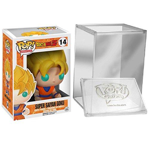 FunkoPOP!Dragon Ball: Super Saiyan Goku + caja protectora