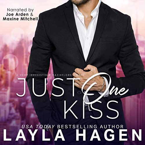 Just One Kiss audiobook cover art
