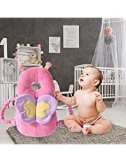 Bebé Reposacabezas anticaída para niños pequeños Gorro anticaída Almohadilla,AnticolisióN Estera De ProteccióN CojíN Para Bebé Mochila, Protector de cabeza para cojín de respaldo para bebés Caminar