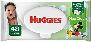 Lenços Umedecidos Huggies Max Clean - 48 lenços