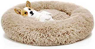 POPOTI Extra Large Dog Beds Sofa,Deluxe Fluffy Washable Round Dog Pillow Cat Cushion Pet Bed for Cat and Dog Snooze Sleepi...