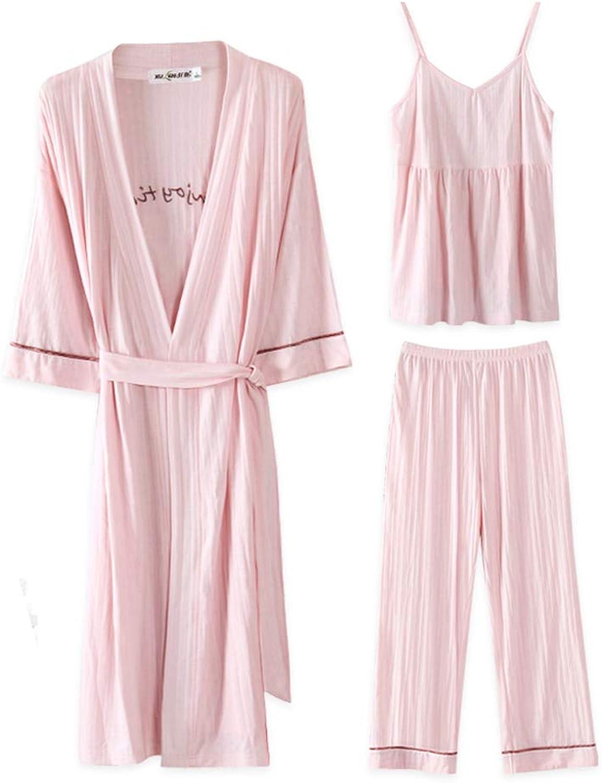 Women's soft bathrobe,Luxury Super Soft Warm Bathrobe 3 pieces set