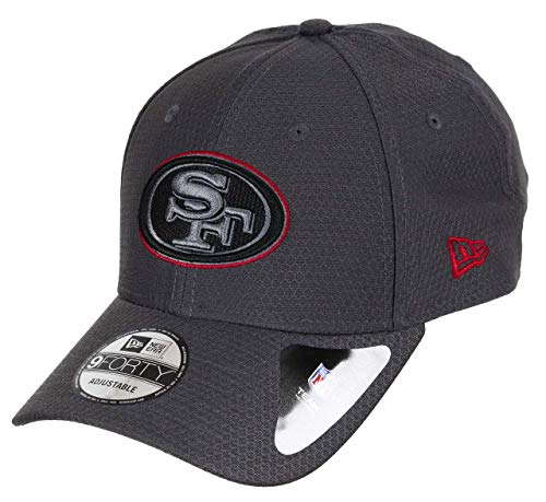 New Era San Francisco 49ers 9forty Adjustable Cap NFL Hex Era Graphite...