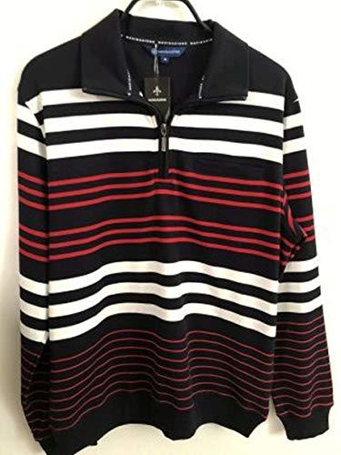 HS Navigazione Sweatshirt Langarm 27525 0513 Marine/Weiss/rot gestreift, Größe:XXL
