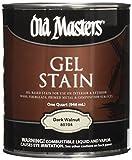 Old Masters 24991 80704 Gel Stain, 1 Quart, Dark Walnut