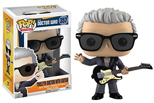 """Funko 10682 DOCTOR WHO 10682 """"POP Vinyl 12th Doctor with Guitar Action Figure"""