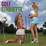 Golf Etiquette 2020 Wall Calendar