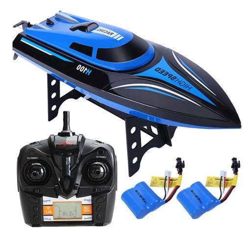 Xfwj High-speed speedboot model dat zich toelegt op de afstandsbediening bootrace Electric schip speelgoed jacht Speed Racing grote afstandsbediening speelgoed boot opladen van high-speed speedboot