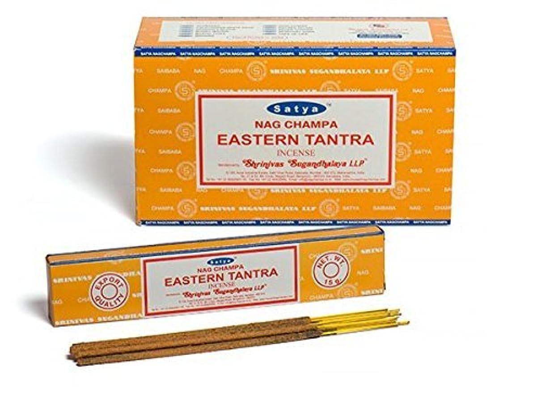 リークマイコン寛解Buycrafty Satya Champa Eastern Tantra Incense Stick,180 Grams Box (15g x 12 Boxes)
