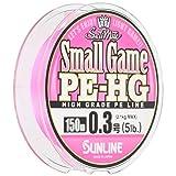 サンライン(SUNLINE) PEライン ソルティメイト スモールゲーム HG 150m 0.3号 5lb サクラピンク