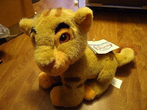 Disney Store The Lion King Plush Cub Simba Sitting 8 by Disney