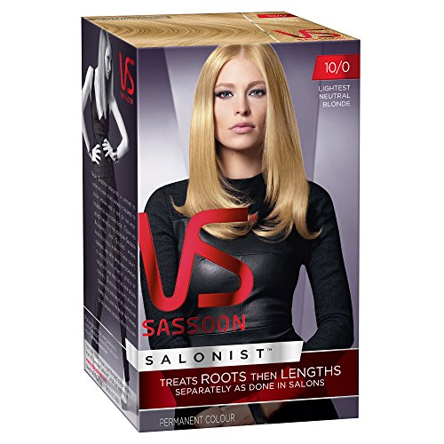 Vidal Sassoon Salonist Hair Colour 10/0 Lightest Neutral Blonde