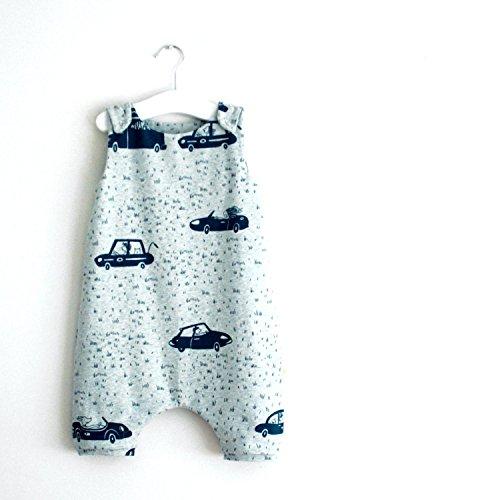 Organic Handmade Unisex Baby/Toddler Romper