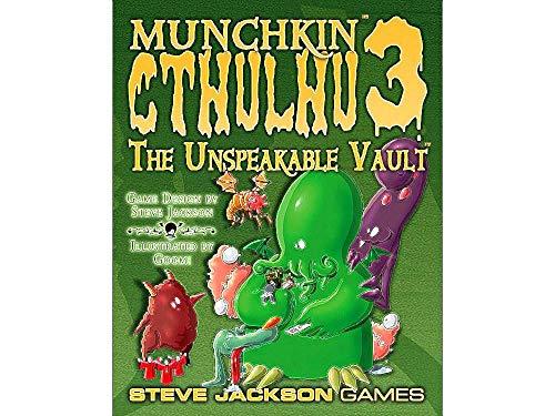 Steve Jackson Games SJG01455 Kartenspiel Munchkin Cthulhu 3-Un. Vault