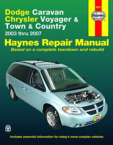 06 town and country alternator - 2