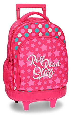 Sac à dos scolaire avec chariot Roll Road Stars