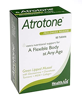 HealthAid Atrotone - Green Lipped Muscle - 60 Tablets
