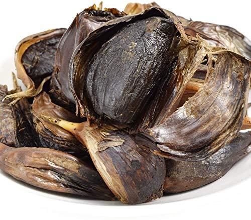 国華園 黒にんにく 1kg 青森産 ご家庭用 波動熟成黒にんにく バラ 200g 5袋