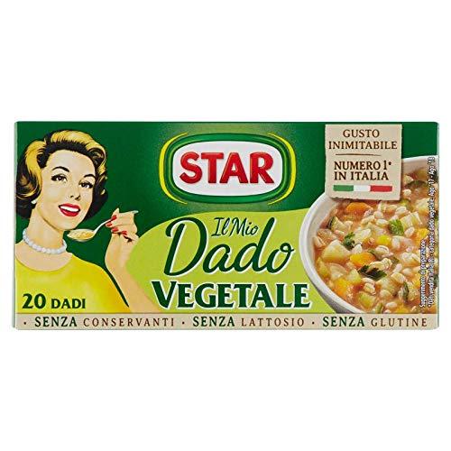 Star Dado VegetaleRicco di Sapore 9 Verdure, 20 Pezzi