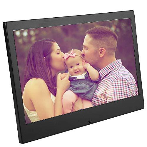 Digitaal Fotoalbum - IPS Full View High Definition-scherm - 11,6 inch 1920 * 1080 IPS HD Digitaal Fotoalbum - Videomuziekspeler met Afstandsbediening - Cadeau voor Partners, Gasten, Vrienden(EU)