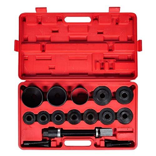 Aufun Radlager Werkzeug Abzieher Set 20-TLG. Radlagerwerkzeug Radlager Radlagerabzieher Montage Radnabe Ausdrücker kfz für alle gängigen PKWs, VW Audi Opel FIAT BMW Ford