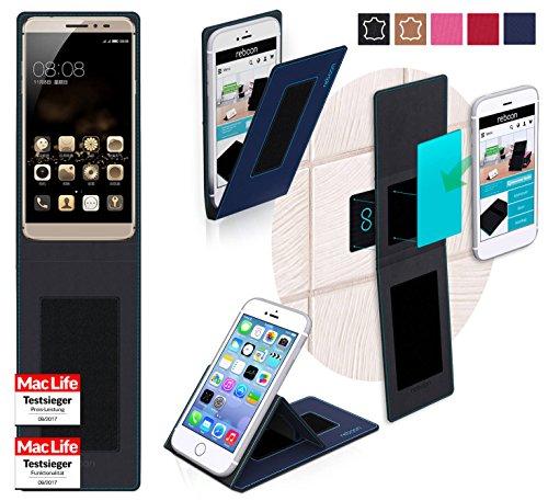 reboon Hülle für Coolpad Max Tasche Cover Case Bumper   Blau   Testsieger