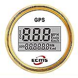 Vehicle Instrument 52mm 2 Inch Digital LCD GPS Speedometer for Motorcycle/Marine Boats/Vehicle Waterproof