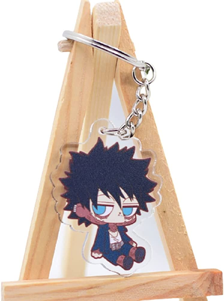 Dabi Anime My Hero Academia Keychain Pendant Keyring Accessories Gift For Fans