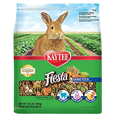 Kaytee Fiesta Rabbit Food 3.5 lb by Central Garden & Pet