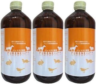 ペット用酵素 ピュアーヌ ペットDE酵素 (500ml) 3本セット