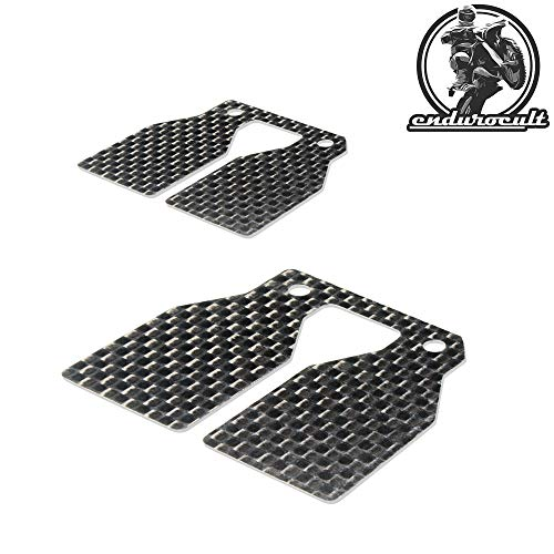 endurocult – 2 x membrana de carbono compatible con Yamaha YZ/IT 80/100/125/175 + RD/RZ 350