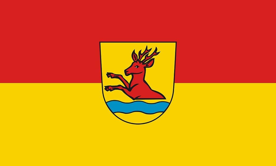 DIPLOMAT-FLAGS magFlags Indoor-Flag with Modern Chrome Flag Pole and Marble Base: Ottenbach || Flag Pole Height: 230cm | 7.5 ft