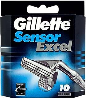Gillette Sensor Excel 10 Cartridge