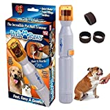 Ransy Pedi Paws Dog Nail Grinder, Upgraded Version Professional Electric Pet...