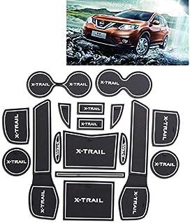 2001-2007 2014-in Poi Colore Nero Grigio rmg-distribuzione 4038 Coprisedili per Nissan X-Trail compatibili con Modelli 2007-2014