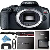 Canon EOS Rebel T7 24MP Digital SLR Camera Retail Packaging Bundle (Body Only)