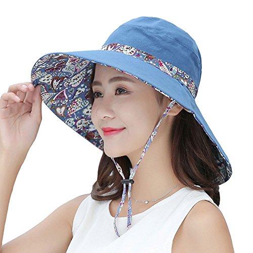 Unbekannt LCCSun hat Visier-Hut-weibliche Sommer-Sonnencreme-koreanische Version der Freizeit-Strand-Hut-Damen-Reise-großen kühlen Hut-Gezeiten