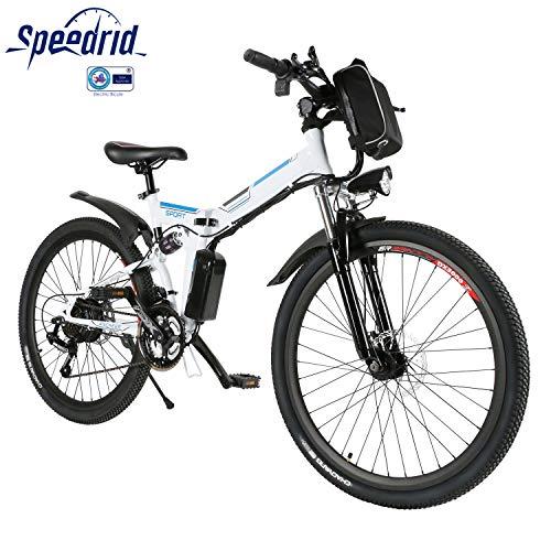 Speedrid Vélo Électrique Pliant, Vélo de Montagne 26 Vélo à
